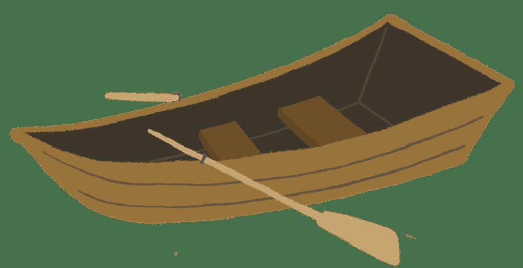 小舟のイラスト