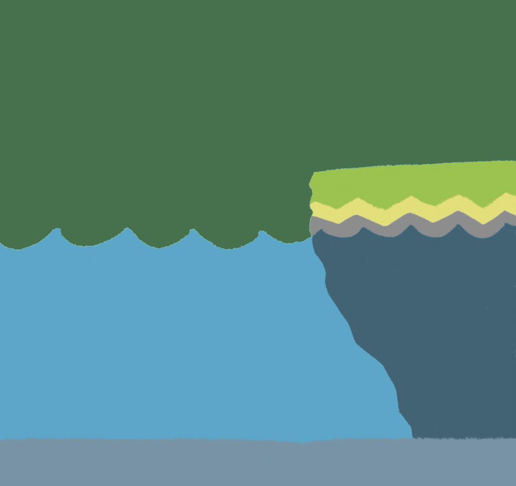 海のイラスト
